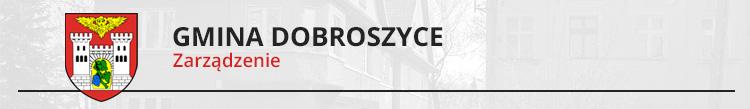 Zarządzenie Nr 5/2021 Wójta Gminy Dobroszyce z dnia 13 stycznia 2021 r. w sprawie wykazu nieruchomości stanowiącej własność Gminy Dobroszyce przeznaczonej do sprzedaży w trybie przetargowym - działka nr 458/18 obręb Dobroszyce