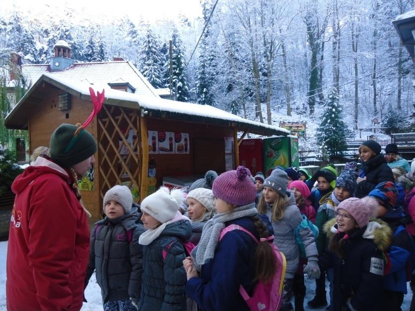 Mikołaj w Kopalni Złota