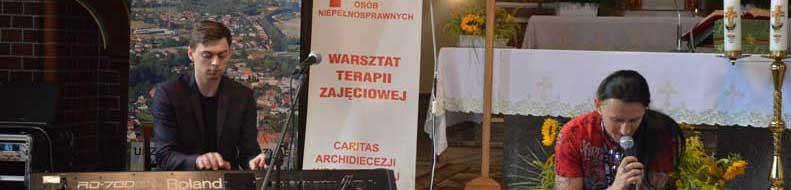 Tomasz Kowalski zagrał w Dobroszycach
