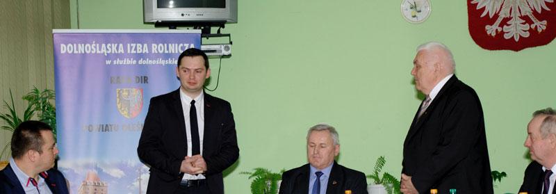 Posiedzenie Powiatowej Rady DIR  na terenie Gminy Dobroszyce