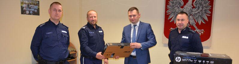 Komputery dla Posterunku Policji w Dobroszycach