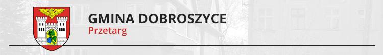 Dostawa kruszywa mineralnego z kamienia granitowego o granulacji 8 – 31.5 mm do naprawy dróg gminnych w gminie Dobroszyce w sezonie 2017r.