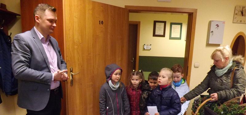 Życzenia świąteczne od przedszkolaków
