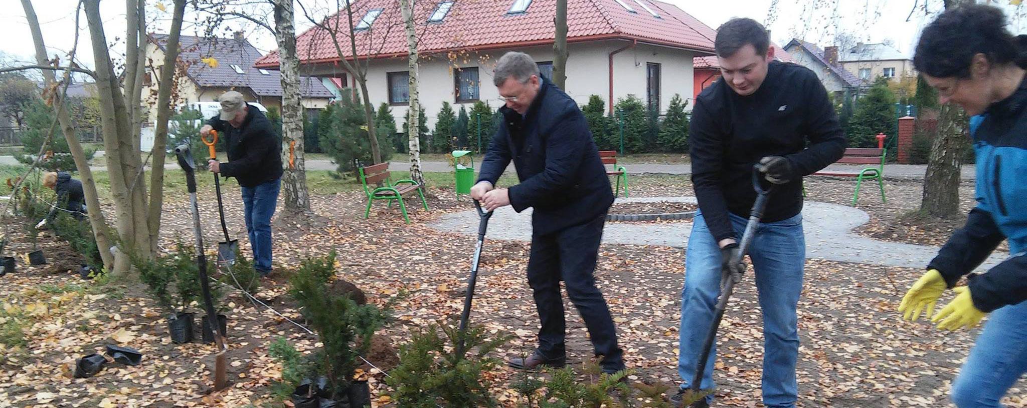 Zagospodarowanie placu rekreacyjnego przy ul. Szkolnej w Dobroszycach