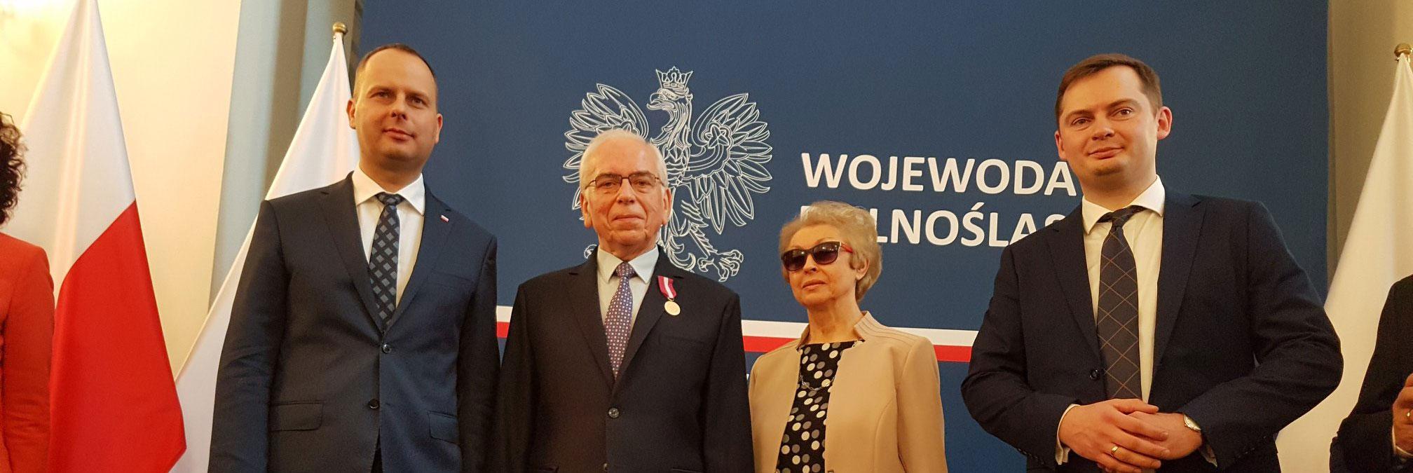 Medal za Długoletnią Służbę do Prezydenta dla Kazimierza Płakseja
