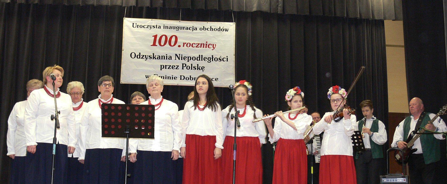 Inauguracja Obchodów 100-lecia Odzyskania przez Polskę Niepodległości