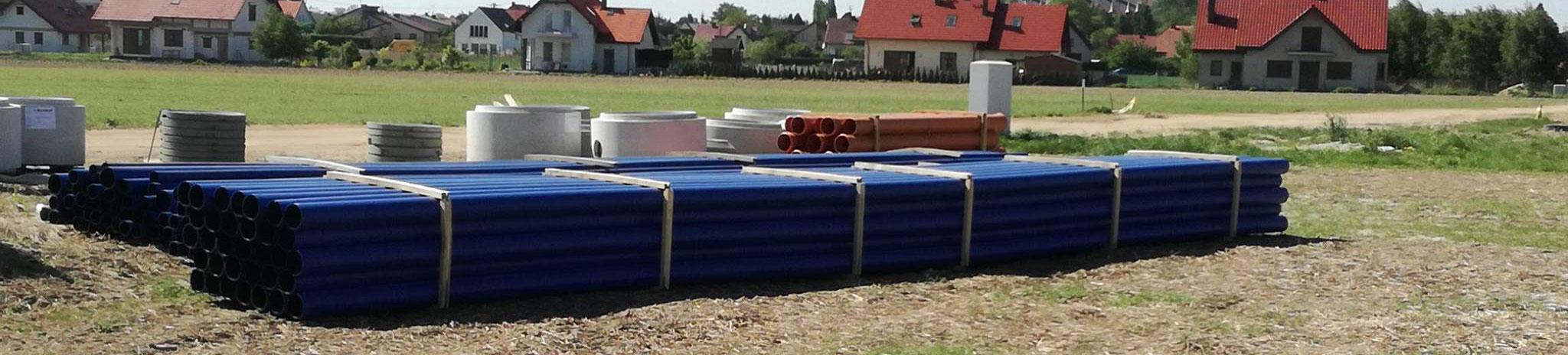 Budowa sieci kanalizacji sanitarnej i wodociągowej w Dobroszycach