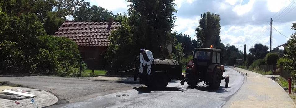 Przebudowa drogi w Malerzowie