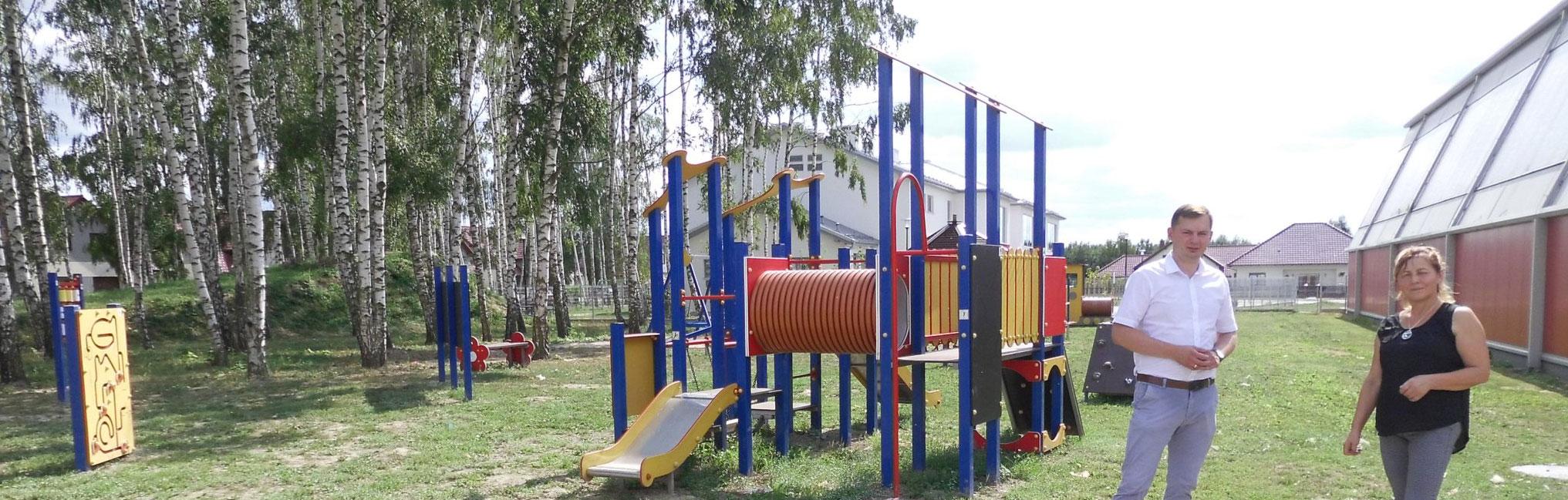 Plac zabaw ufundowany przez RMFFM czeka na dzieci