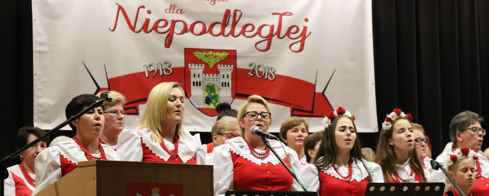 Obchody 100-lecia odzyskania niepodległości w Dobroszycach