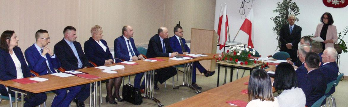 I Sesja Nowej Rady Gminy Dobroszyce