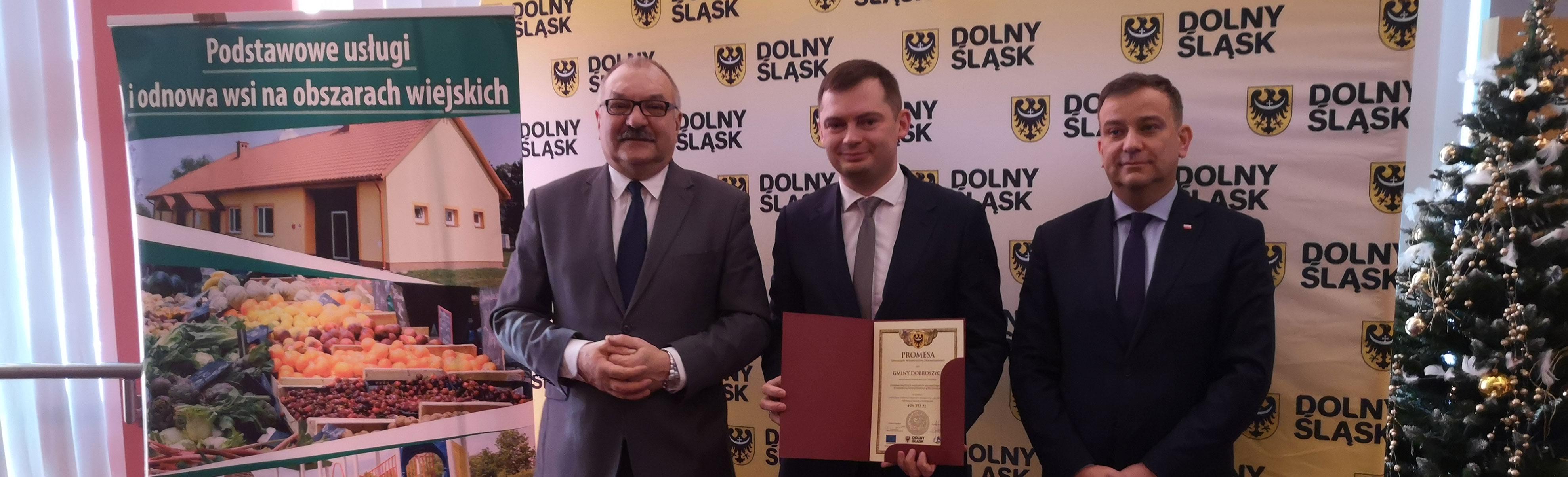 Kolejny milion dotacji pozyskany dla Gminy Dobroszyce