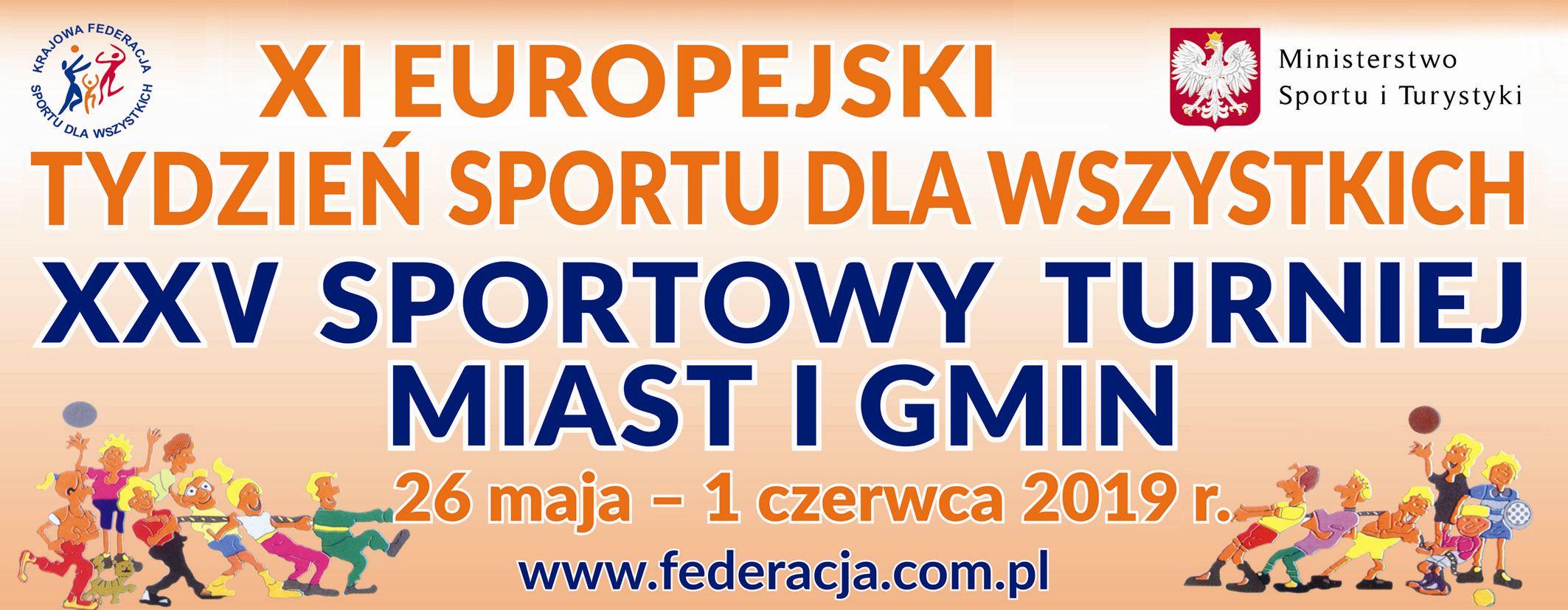 XXV Sportowy Turniej Miast i Gmin-XI Europejski Tydzień Sportu