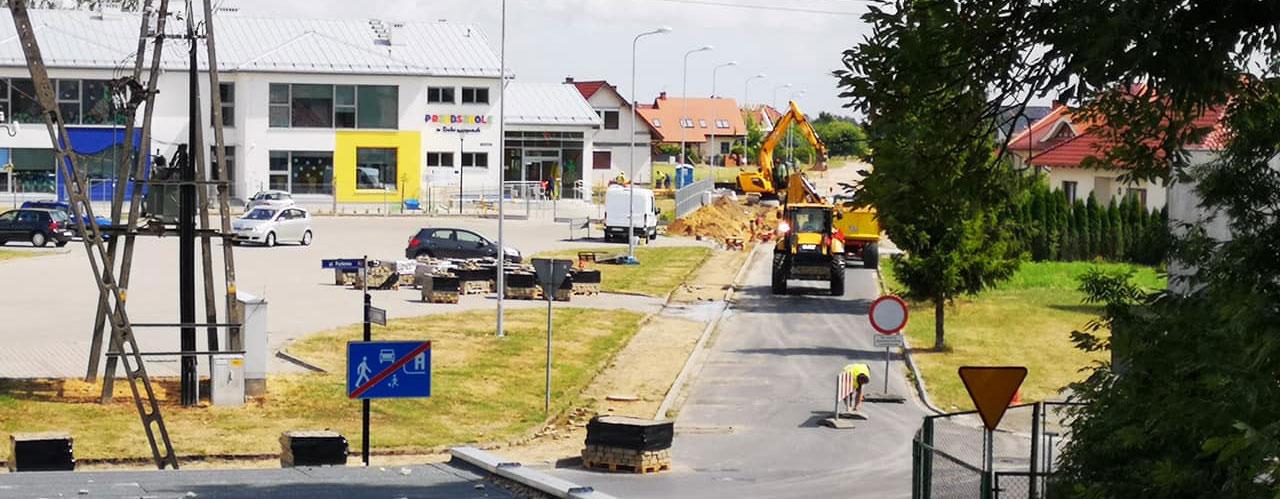 Przebudowa ul Nowosiedlickiej w Dobroszycach